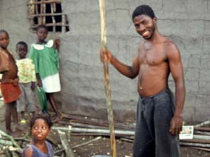 In Next Man Country, the untold story of the Liberian refugees starring David Waines